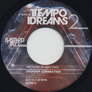 Starship Connection / We Can Go All Night c/w K-Maxx / Dreamin' Of You