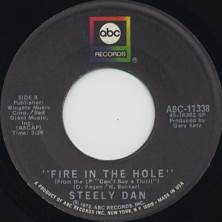 Steely Dan / Do It Again back