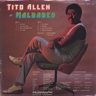 Tito Allen / Maldades back