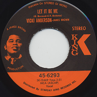 Vicki Anderson / Let It Be Me