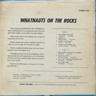 Whatnauts / On The Rock back
