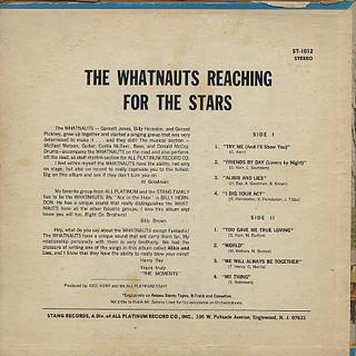 Whatnauts / Reaching For The Stars back