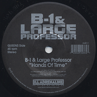 B-1 & Large Professor / Hands Of Time c/w O.C. & The Beatminerz / Spitgame