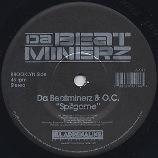 B-1 & Large Professor / Hands Of Time c/w O.C. & The Beatminerz / Spitgame back