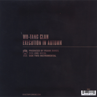 Wu-Tang Clan / Execution In Autumn back