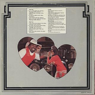Baby Washington & Don Gardner / Lay A Little Lovin' On Me back