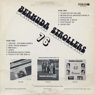 Bermuda Strollers Featuring Ted Ming / 76 back