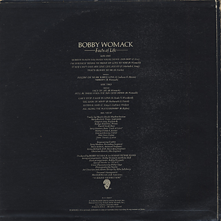 Bobby Womack / Facts Of Life back