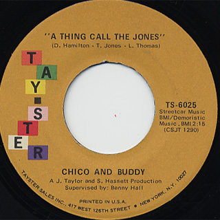 Chico & Buddy / Can You Dig It