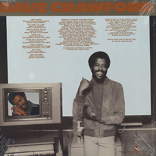 Dave Crawford / Here Am I back