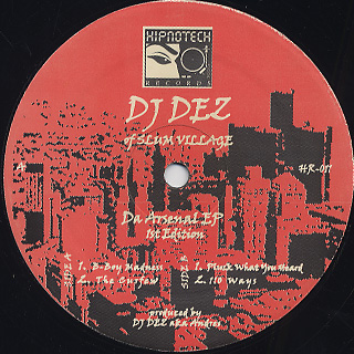 DJ Dez / Da Arsenal EP
