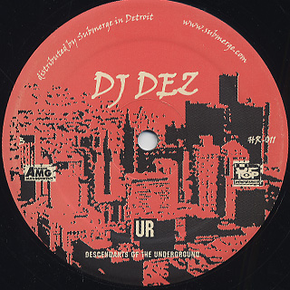 DJ Dez / Da Arsenal EP back