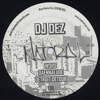 DJ Dez / Natural EP back