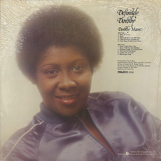 Dorothy Moore / Definitely Dorothy back