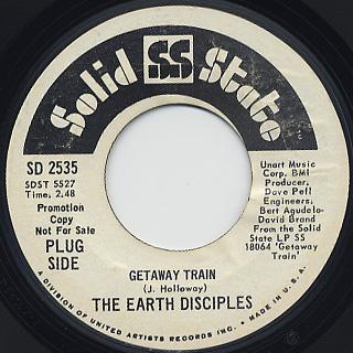 Earth Disciples / Getaway Train