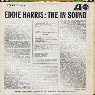 Eddie Harris / The In Sound back