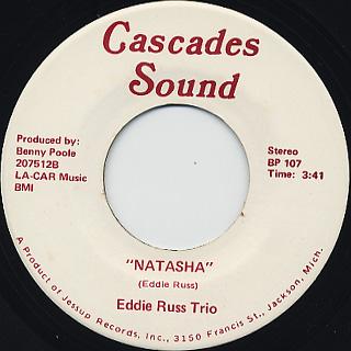 Eddie Russ Trio / Natasha back