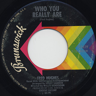 Fred Hughes / Baby Boy c/w Who You Really Are back