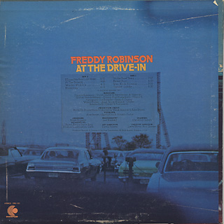 Freddy Robinson / At The Drive-In back