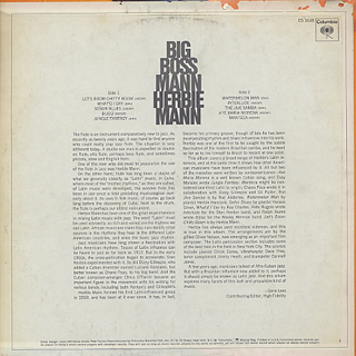Herbie Mann / Big Boss Mann back