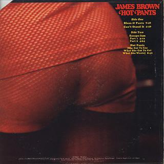 James Brown / Hot Pants back