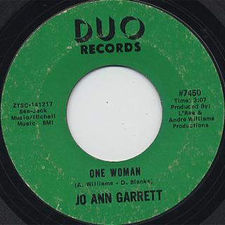 Jo Ann Garrett / I'm A Now Girl (Do It Now) back