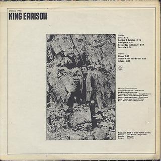 King Errison / The King Arrives back