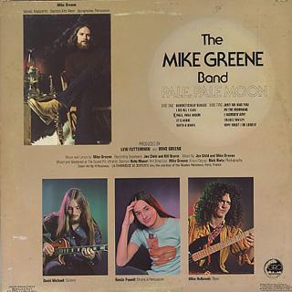Mike Greene / Pale, Pale Moon back