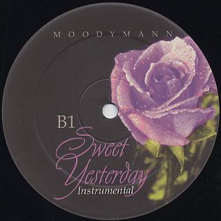 Moodymann / Sweet Yesterday back