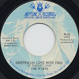 O'Jays / Deeper(In Love With You)