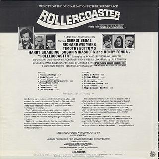 O.S.T.(Lalo Schifrin) / Rollercoaster back