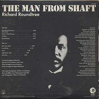 O.S.T.(Richard Roundtree) / The Man From Shaft back