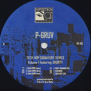 P-Gruv / Tech Hop Sognature Series Vol.1 featuring Shorty