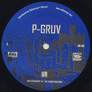 P-Gruv / Tech Hop Sognature Series Vol.1 featuring Shorty back