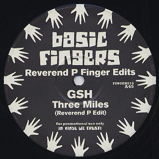Reverend P / Finger Edits