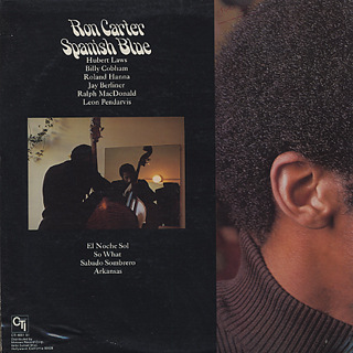 Ron Carter / Spanish Blue back