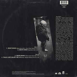 2 Pac / Dear Mama Remixes back