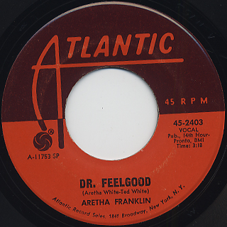 Aretha Franklin / Respect back