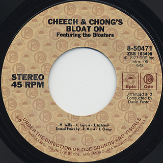 Cheech & Chong feat Bloaters / Bloat On label