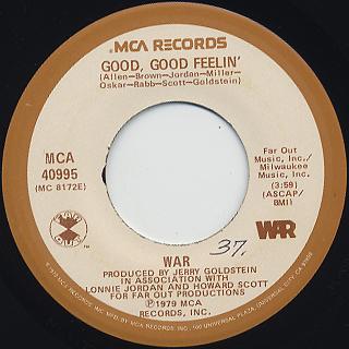 War / Good, Good Feelin'