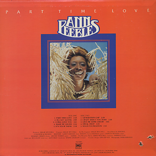 Ann Peebles / Part Time Lover back