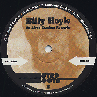 Billy Hoyle / Os Afro-Sambas Reworks back