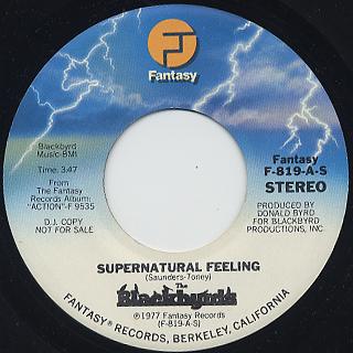 Blackbyrd / Supernatural Feeling