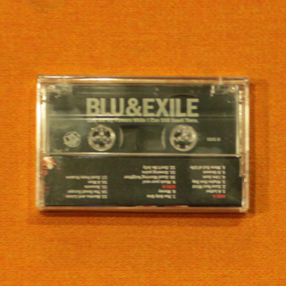 Blu & Exile / Give My Flowers While I Can Still Smell Them(Cassette) back