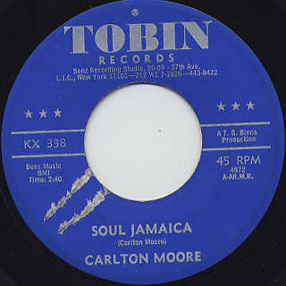 Carlton Moore / Soul Jamaica front