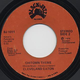 Cleveland Eaton / Chitown Theme back