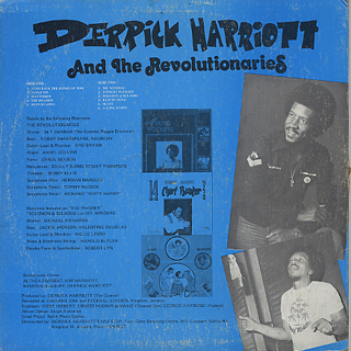 Derrick Harriott and The Revolutionaries / Reggae Chart Busters Seventies Style back