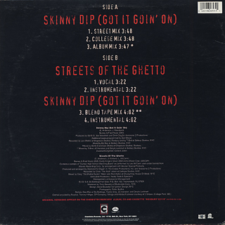 ED O.G & Da Bulldogs / Skinny Dip (Got It Goin' On) back