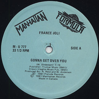 France Joli / Gonna Get Over You