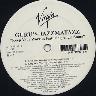 Guru's Jazzmatazz / Keep Your Warriors back